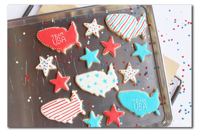 olympic team usa cookies
