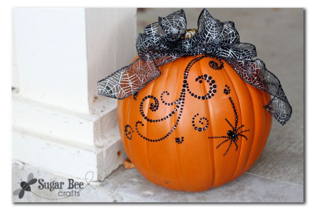 bling-pumpkin-easy-decor