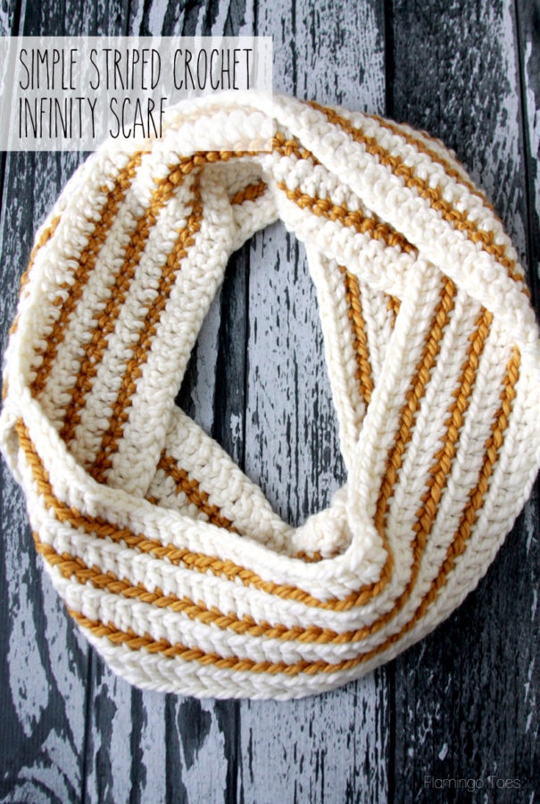 simple-striped-crochet-scarf-605x900