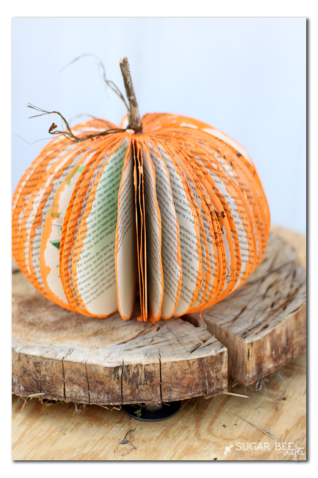 book-pumpkin-craft