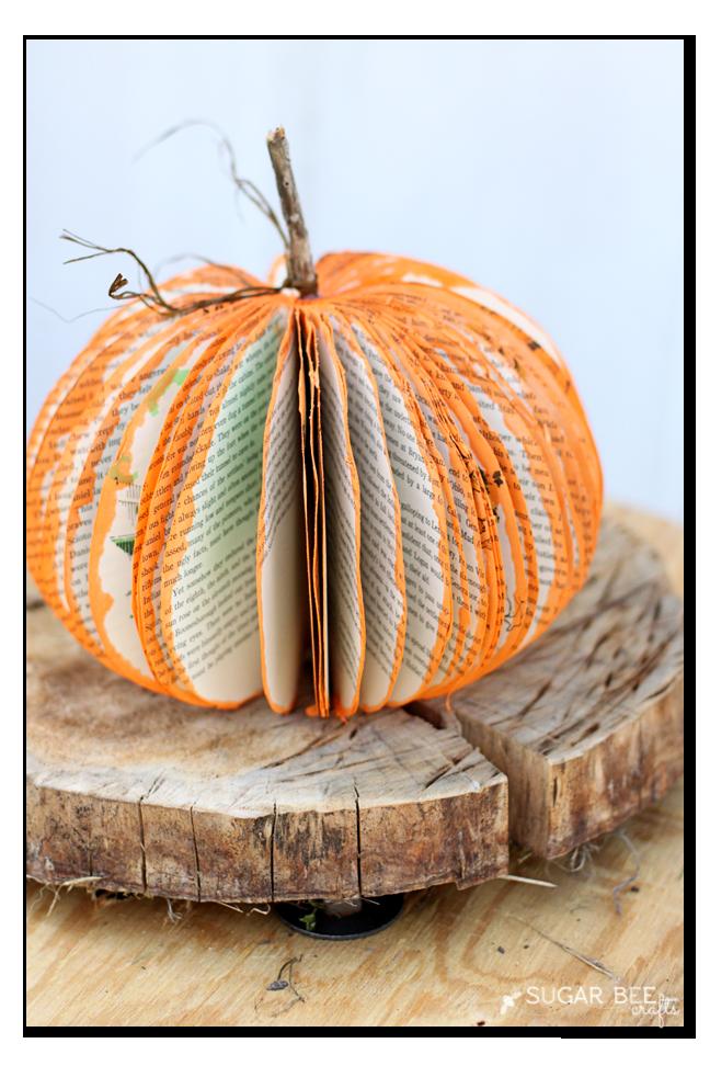 book-pumpkin-craft