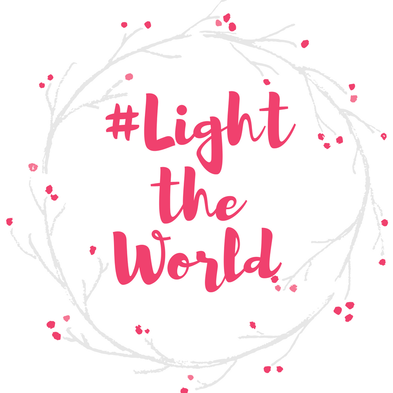 #lighttheworld free printable