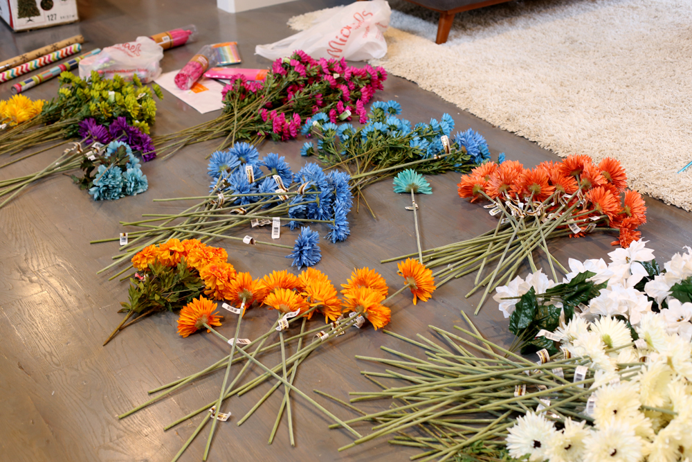 articial-flowers-prep-decor