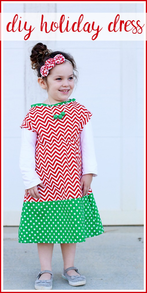 chevron-diy-holiday-dress-waverly-walmart-fabric