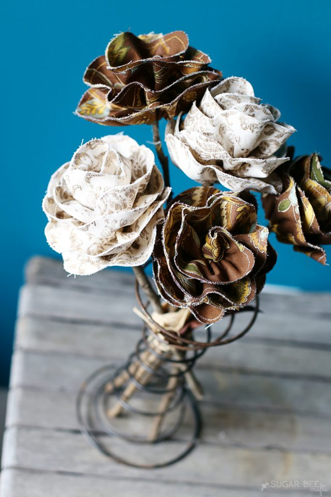 fabric-flowers-for-fall