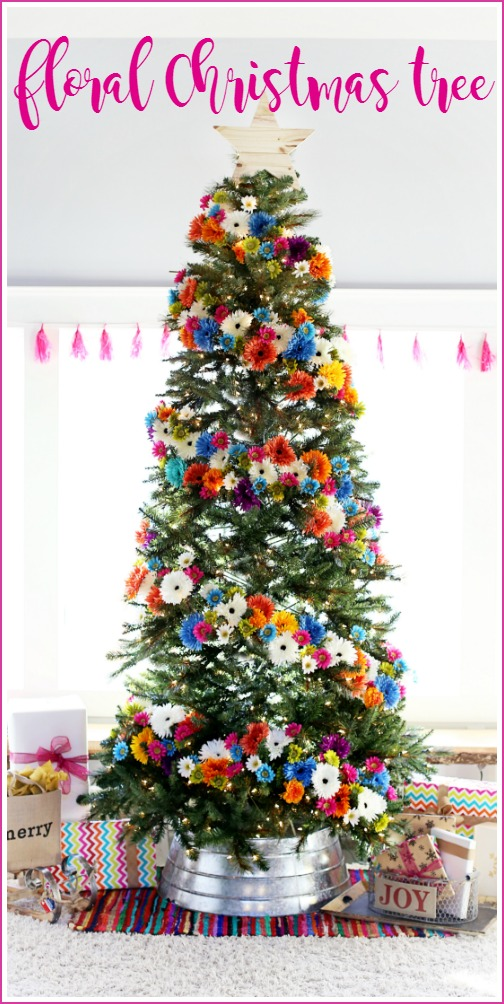 floral-christmas-tree-diy