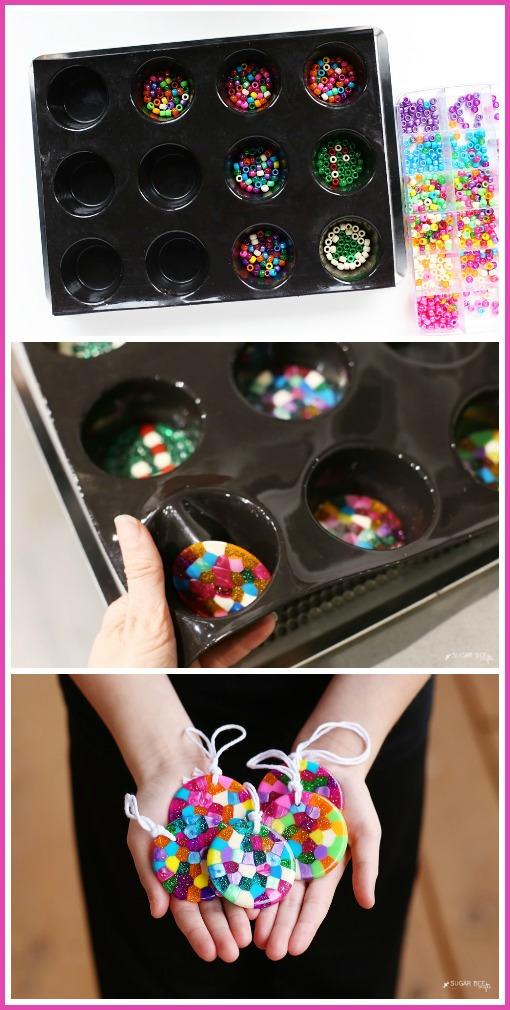 how-to-make-melted-bead-ornaments-craft