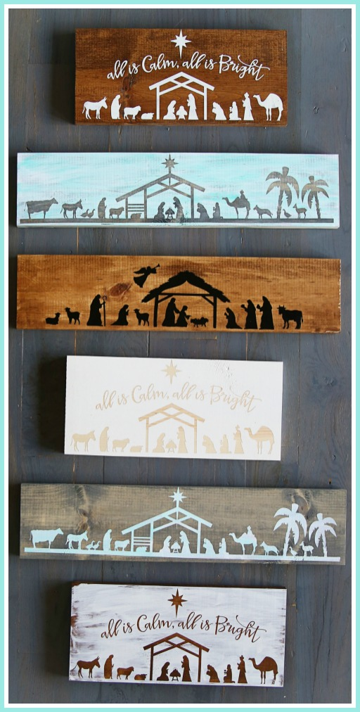 how-to-make-nativity-boards