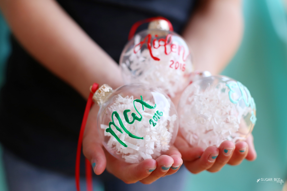 puffy-paint-cling-ornaments