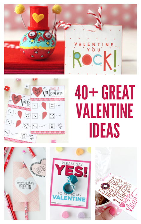 40+ great valentine ideas