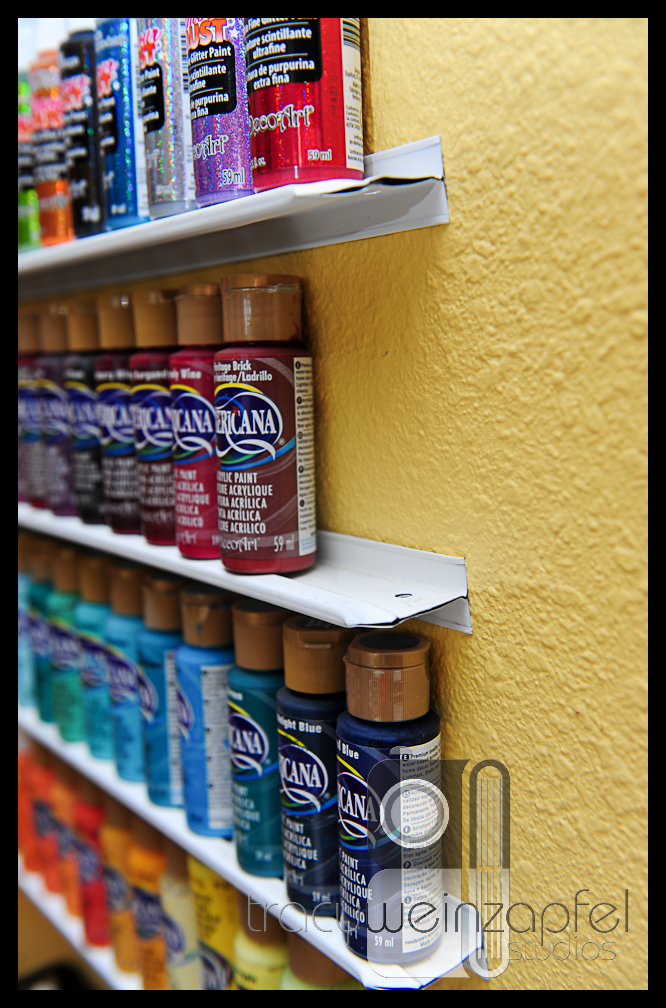 Craft Paint Storage Ideas Sugar Bee Crafts
