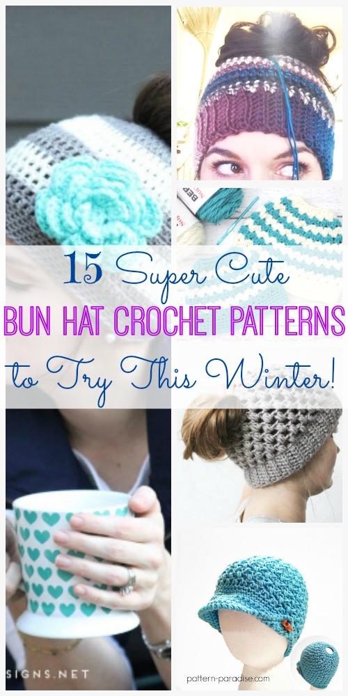 bun-hat-crochet-patterns