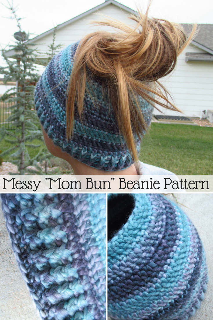Bun Hat Crochet Pattern Sugar Bee Crafts