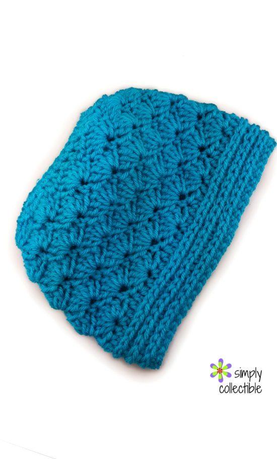 9b819dbd5fa seashore-messy-bun-crochet-pattern-by-celina-lane-