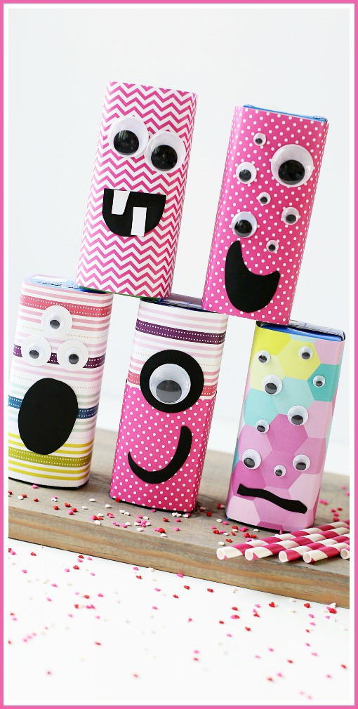 juice box craft valentine's day
