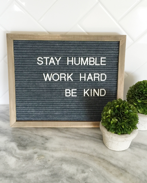 DIY Letter Boards