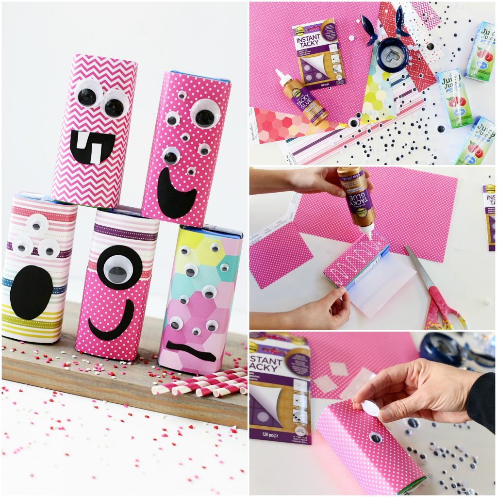 valentine juice box craft idea