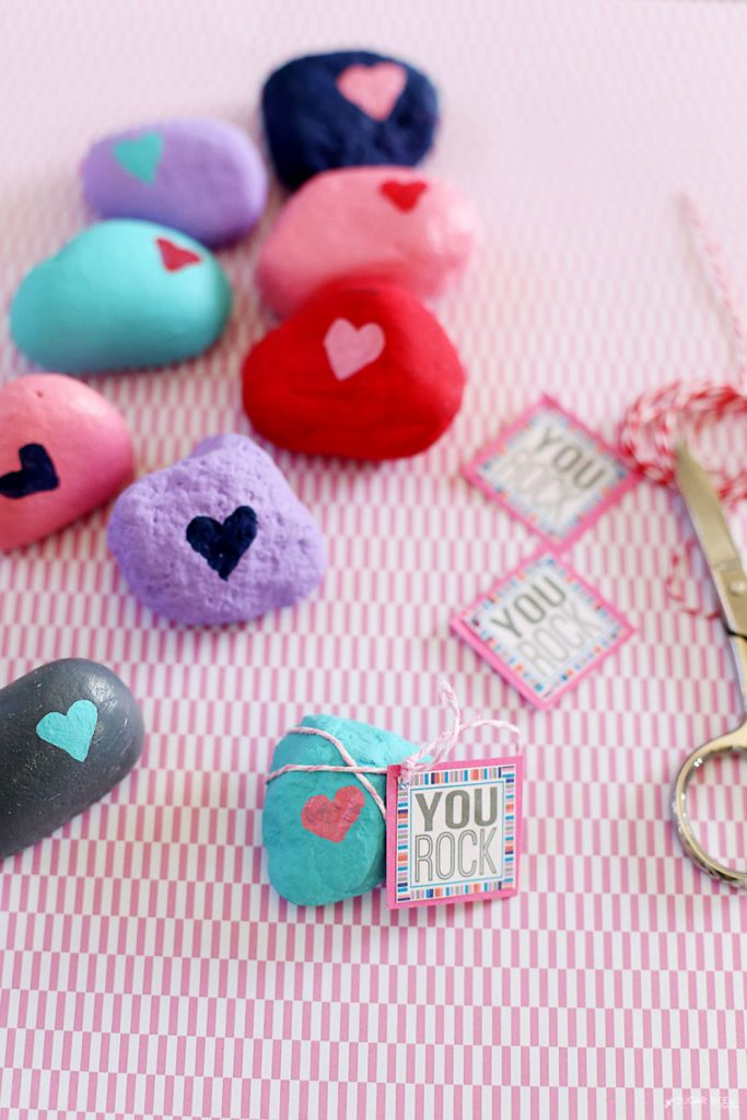 valentine you rock with printable