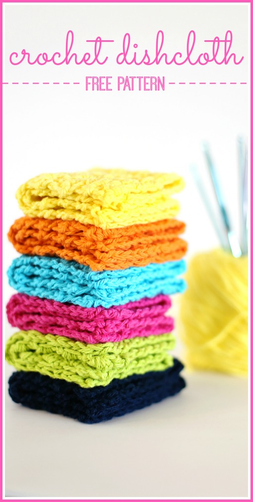 crochet dishcloth free pattern