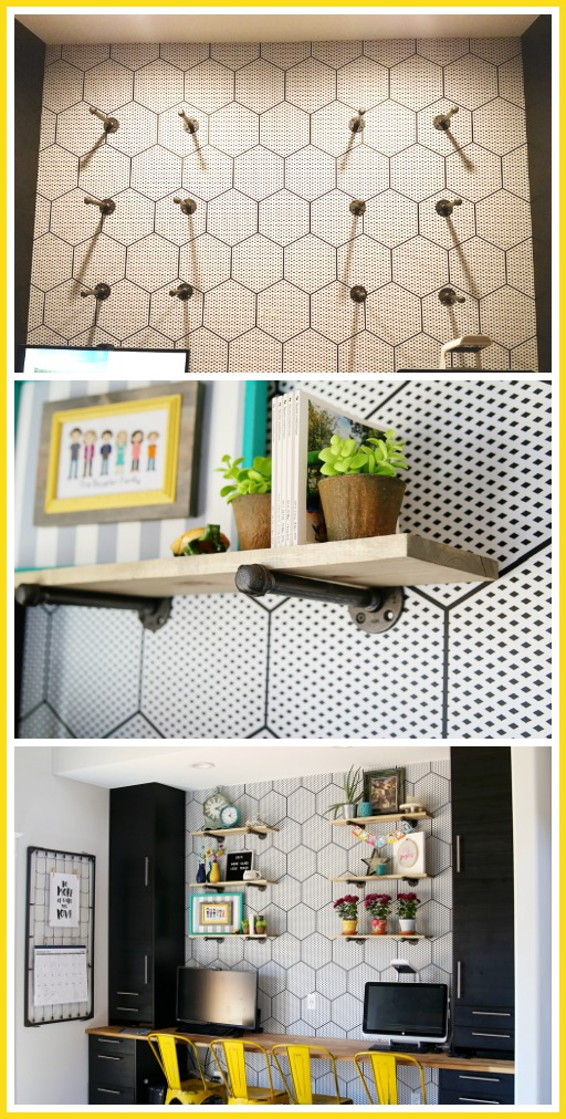 how to install industrial shelving