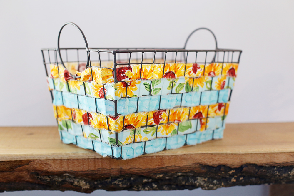 woven wire basket diy