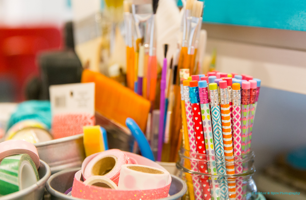craft room supplies