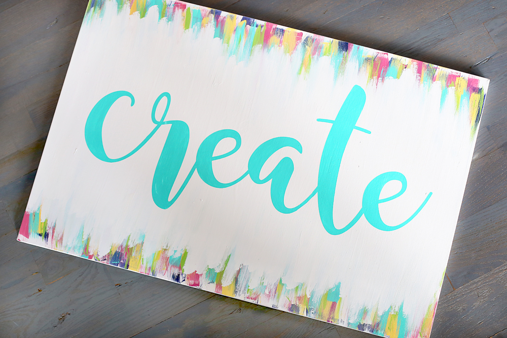 create canvas for craft room