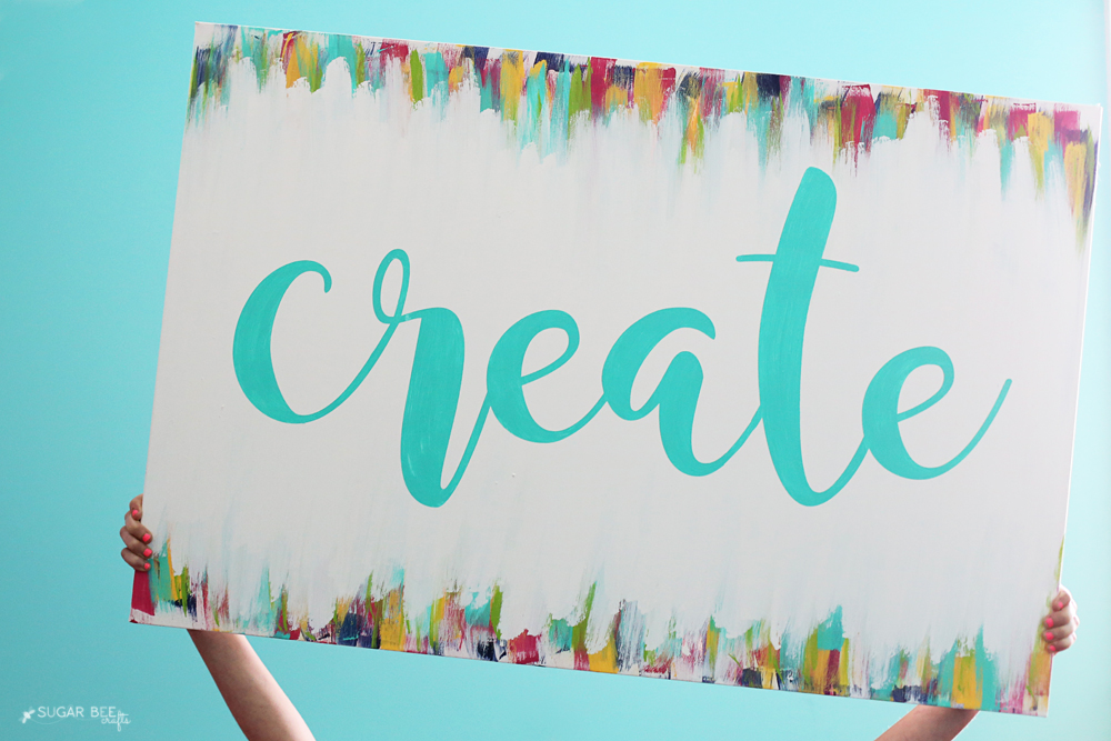 diy create canvas