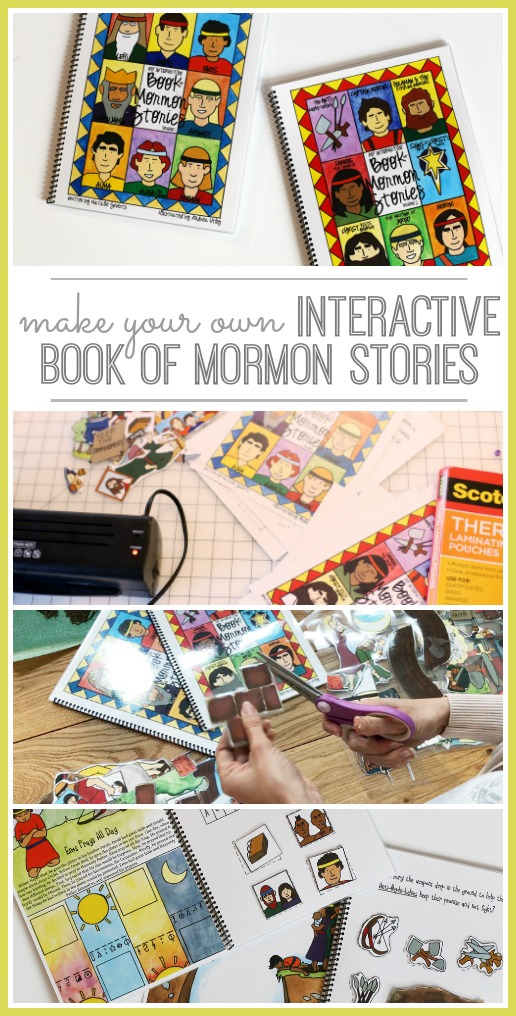 interactive book of mormon quiet book