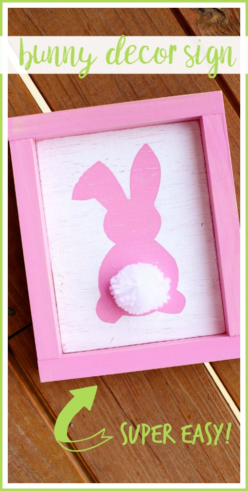 easy spring bunny craft idea