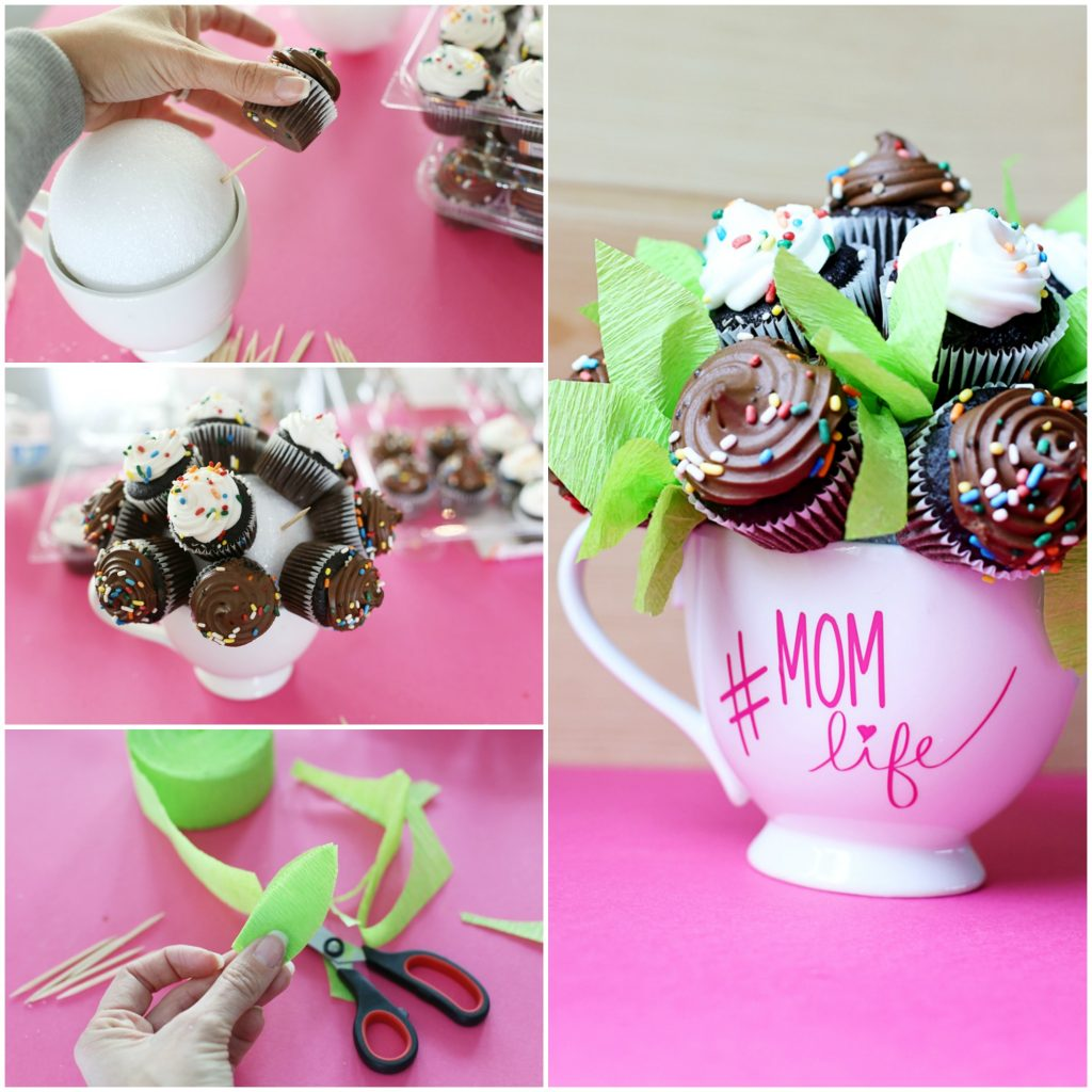 Mini Cupcake Bouquet - Sugar Bee Crafts