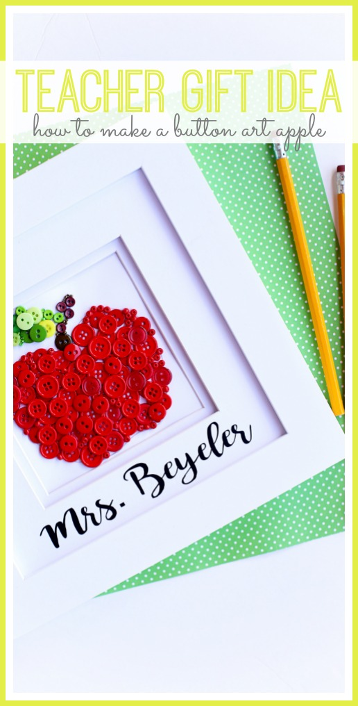 teacher gift idea craft