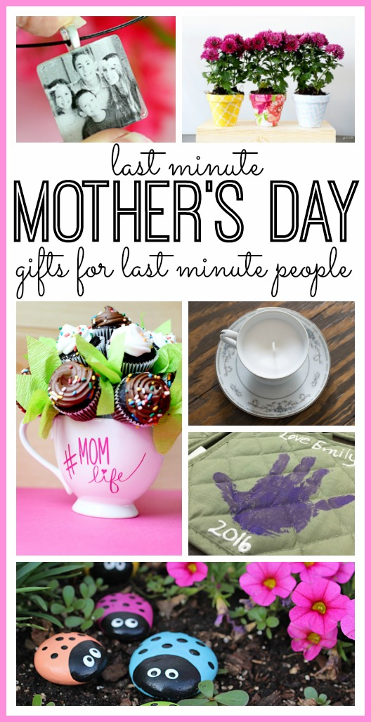 Last Minute DIY Mother's Day