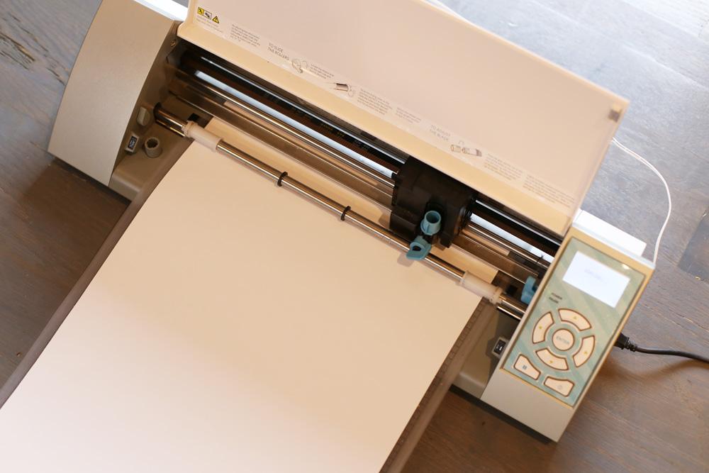 cutting vinyl