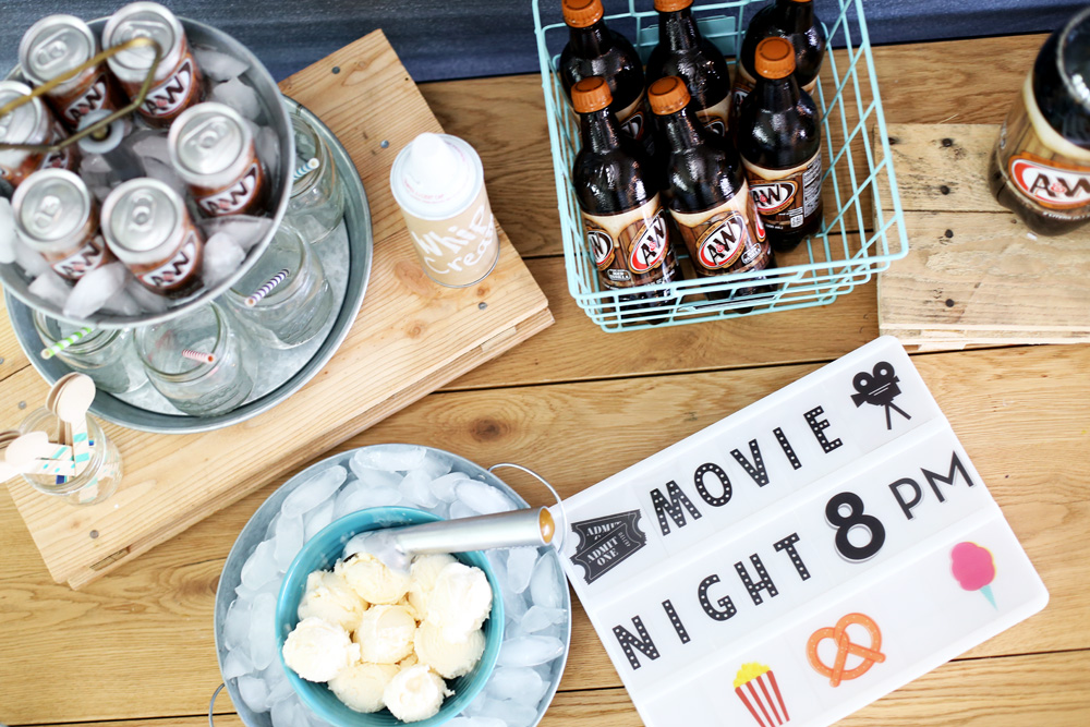 rootbeer float movie night
