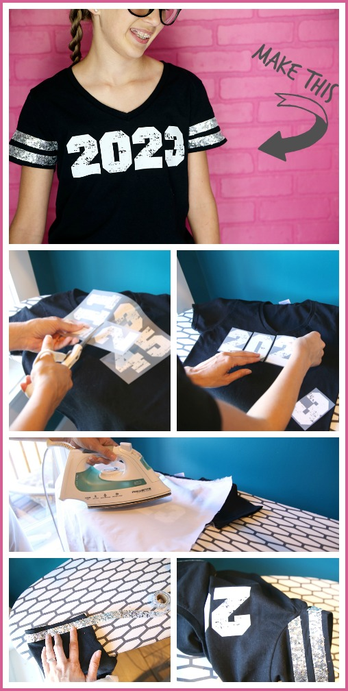make transfer number tee tutorial how to