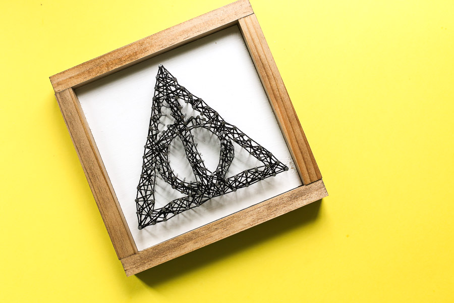 Deathly Hallows String Art-2