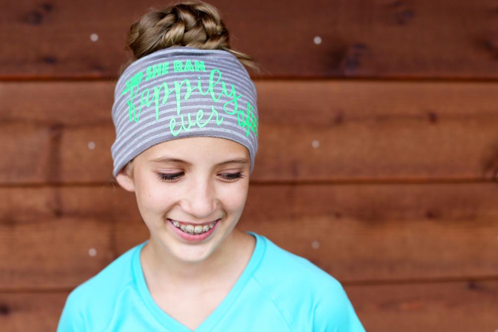 motivational headband diy