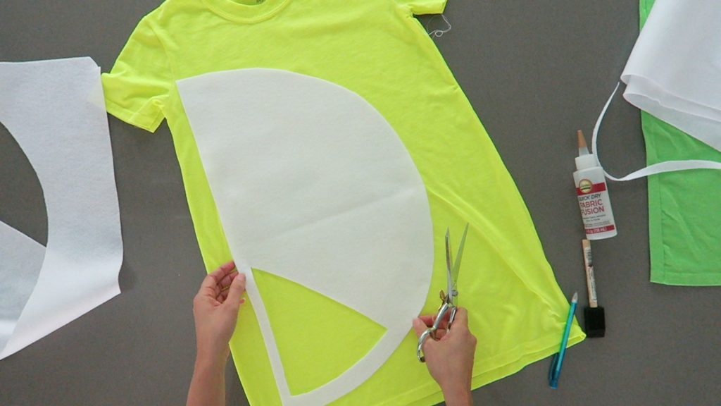 Lemon Lime Costume cut slices