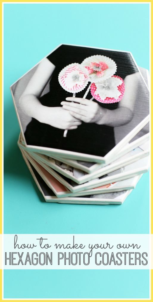 how to make photo coaster craft