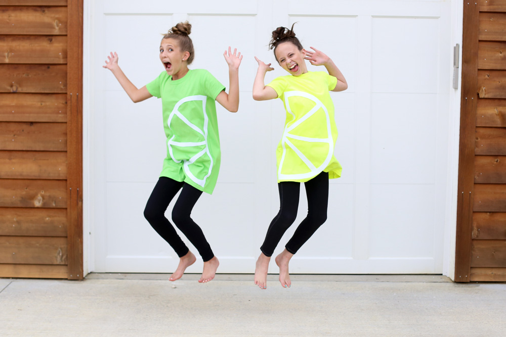 lemon lime jump costume