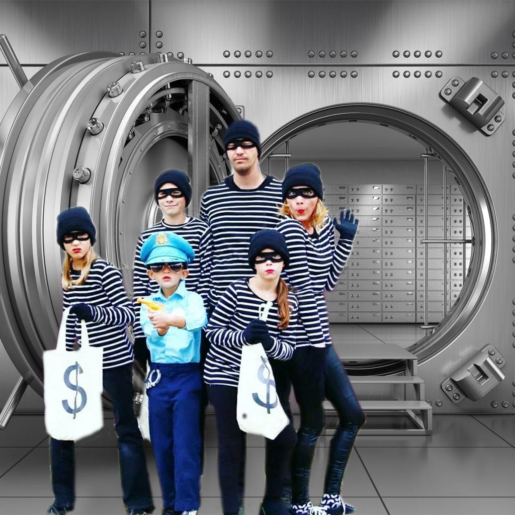 bank robbers vault