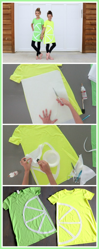lemon lime costume tutorial