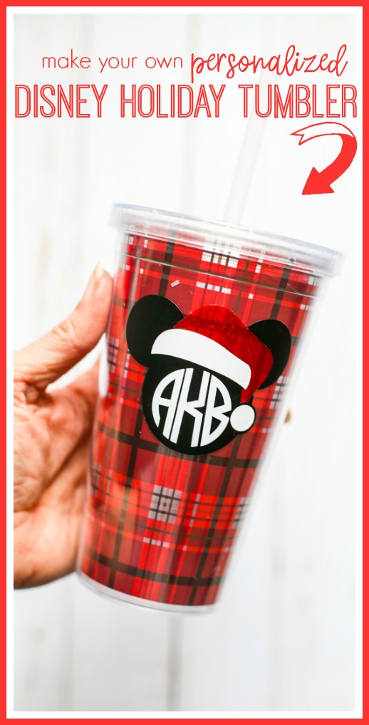 personalized disney tumbler