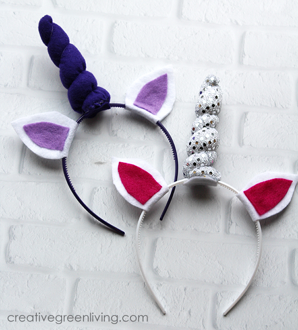 Unicorn headband tutorial - perfect for valentine's day or party favors