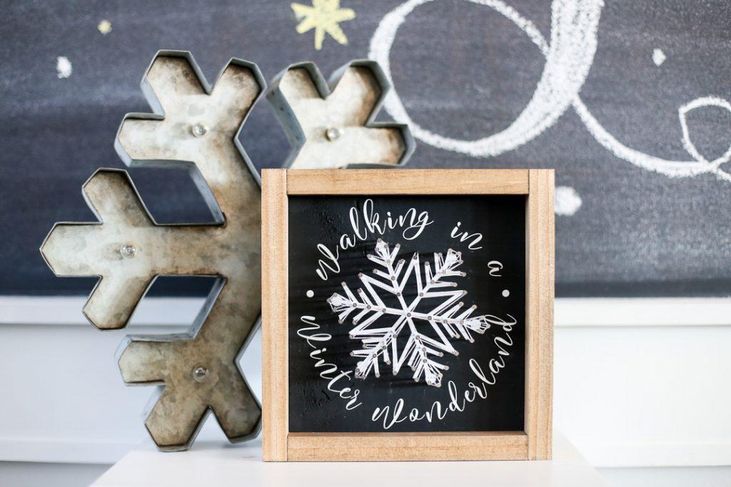 string art snowflake-1