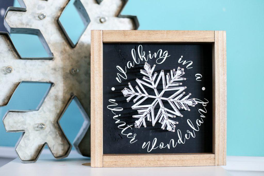 string art snowflake-5