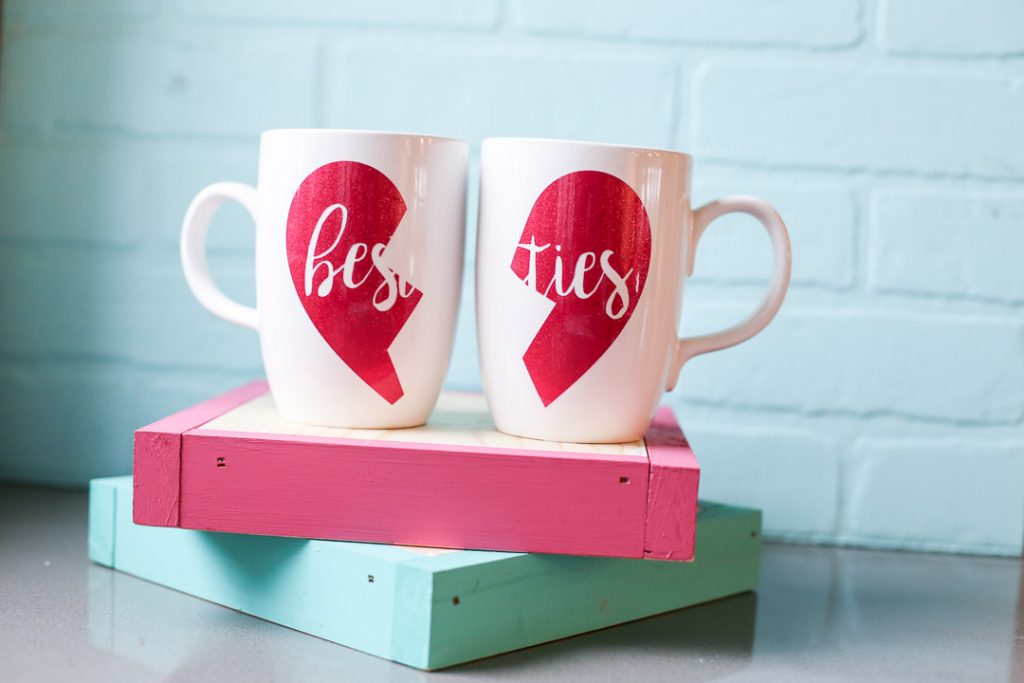 Galentines craft gift idea besties mug-4