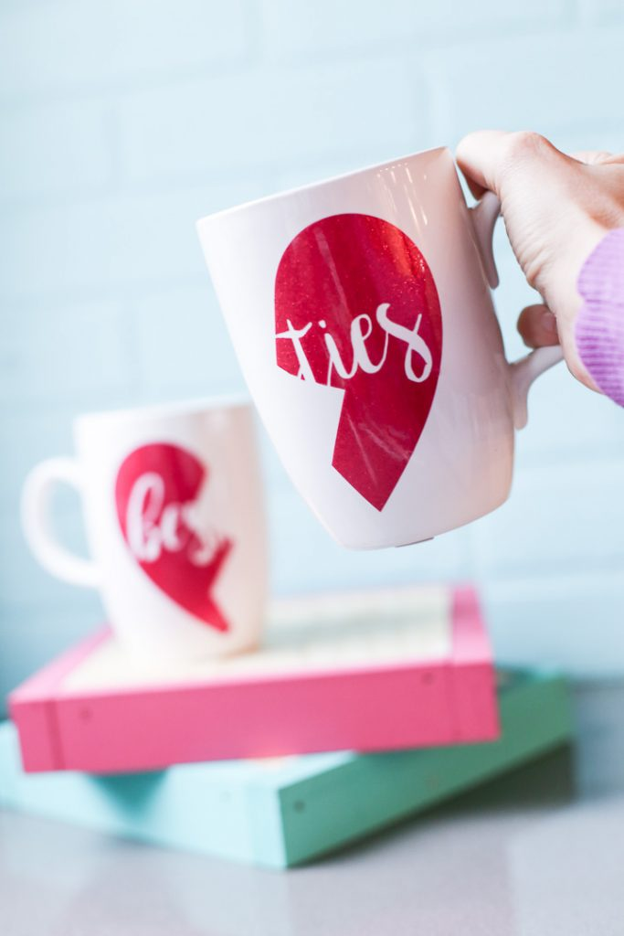 Galentines craft gift idea besties mug-5