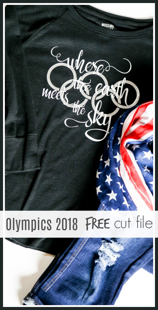 Olympics svg silhouette cut file